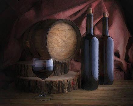 Tom Mc Nemar - Wine Cellar Still Life