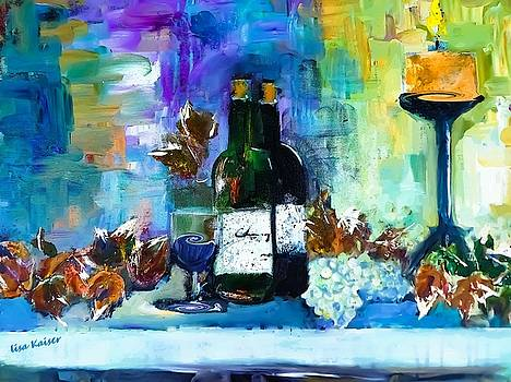 Wine For Me Two by Lisa Kaiser