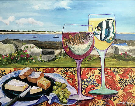 Wine Lovers' Picnic by Linda Kegley