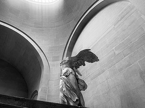 Winged Victory or the Nike of Samothrace by Nathan Larson
