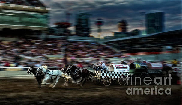 Winning Finish by Brad Allen Fine Art