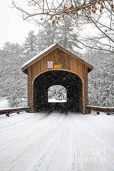 Winter at Babb's Bridge by Jesse MacDonald