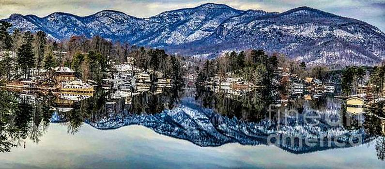 Winter at Lake Lure extended by Buddy Morrison