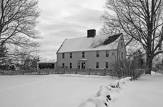 Wayne Marshall Chase - Winter at Noyes House