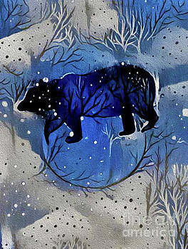 Winter Bear by Nina Silver