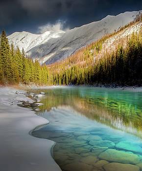 Winter Break / North Fork of Flathead River, Glacier National Park  by Nicholas Parker