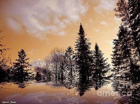 Winter Glow by Elfriede Fulda