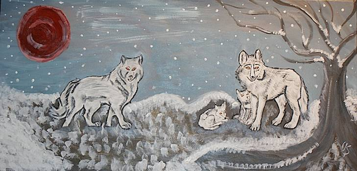 Winter Has Arrived by Yvonne Sewell