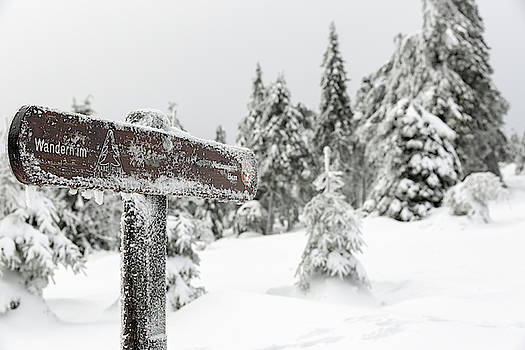 Winter hiking in the Harz National Park by Andreas Levi