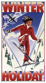 Garth Glazier - Winter Holiday Pop Art Poster