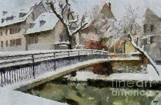 Winter In Old Town by Dragica Micki Fortuna