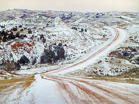 Winter in the Realm of West Dakota by Cris Fulton