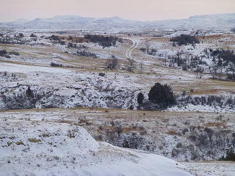 Winter in West Dakota by Cris Fulton