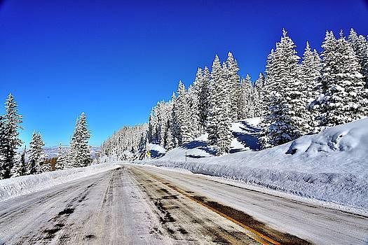 Winter on Grand Meswa by Gerald Blaine