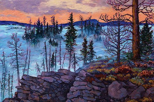 Winter Ridge by Rebecca Baldwin