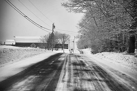 Winter Road--Mt. Vernon by John Meader