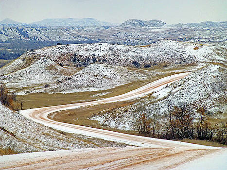 Winter Road near the Little Mo by Cris Fulton