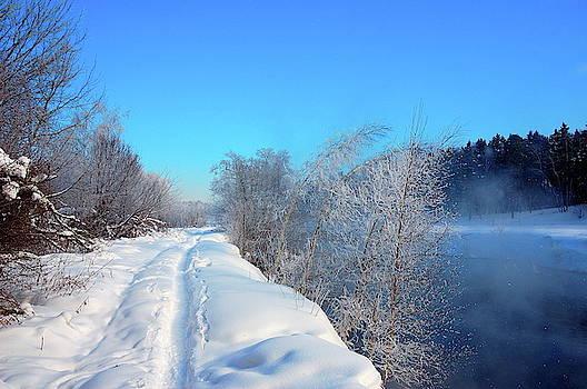 Winter roads  by Yuri Hope