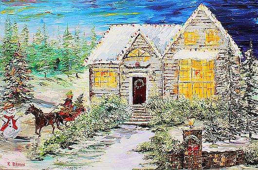 Winter Sleigh by Kevin Brown