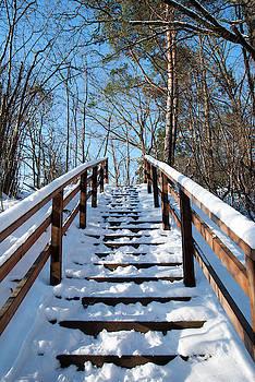 Ramunas Bruzas - Winter Stairs