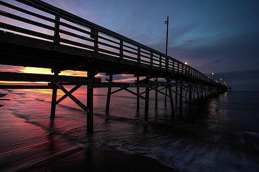 Winter Sunrise on Oak Island  by Nick Noble