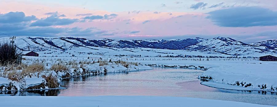 Winter Sunrise Over the Salt River by Barbara Hayton