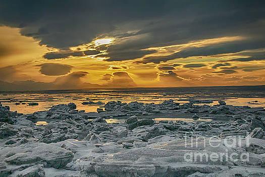 Winter Sunset by Bernita Boyse