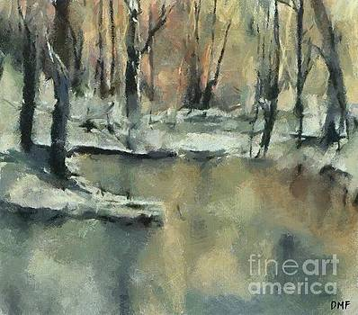 Winter Sunset by Dragica Micki Fortuna