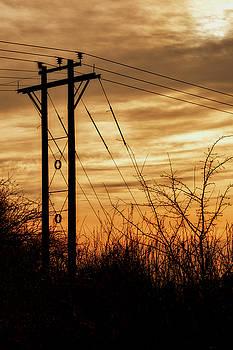 Jeremy Lavender Photography - Winter sunset in Scotland