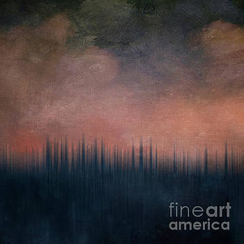Winter Sunset by Priska Wettstein