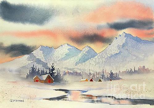 Winter Village by Teresa Ascone