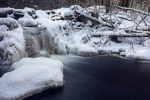 Winter Waterfall  by Brian Hale