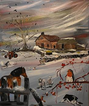 Winters Day by Susan Voidets
