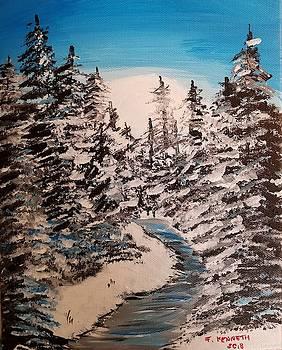 Winter's Stream by F-Kenneth Taylor