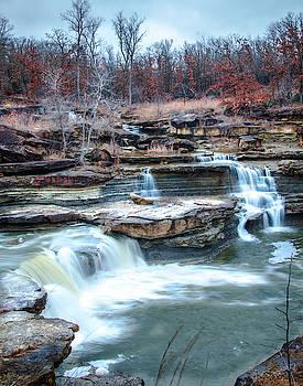 Wintertime Falls by Steve Marler