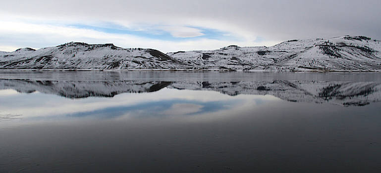 Wintry Reflections by Marie Leslie