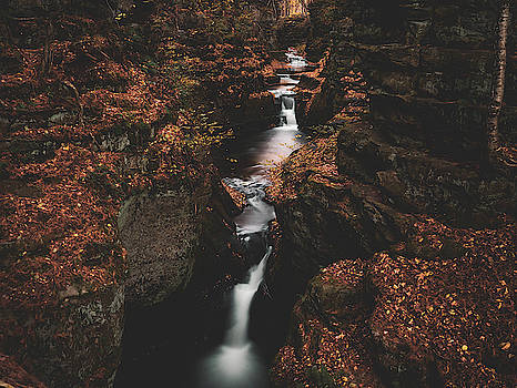 Wisconsin Gorge Falls by Tailor Hartman
