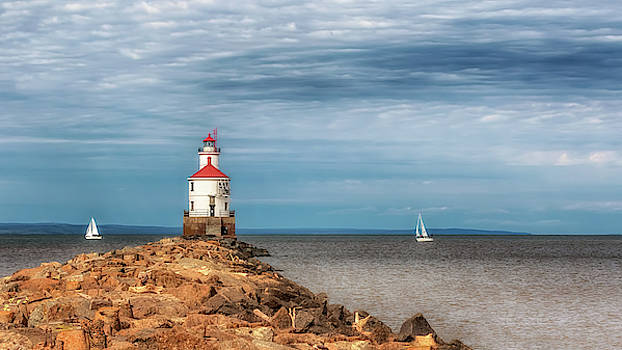 Susan Rissi Tregoning - Wisconsin Point Lighthouse