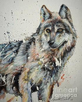 Wolf 4 Of 4 by Amanda Hukill