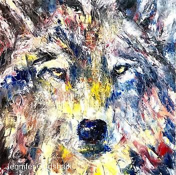 Wolf by Jennifer Morrison Godshalk