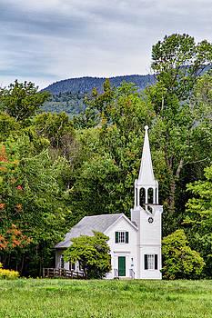 Wonalancet Union Chapel by Betty Pauwels