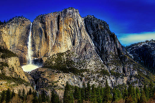 Wonderful Magnificent Yosemite Falls by Garry Gay