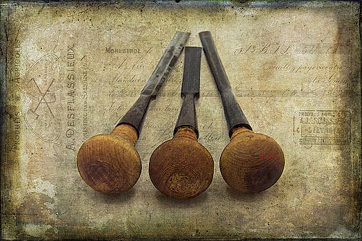 Wood Carving Tools by Cindi Ressler