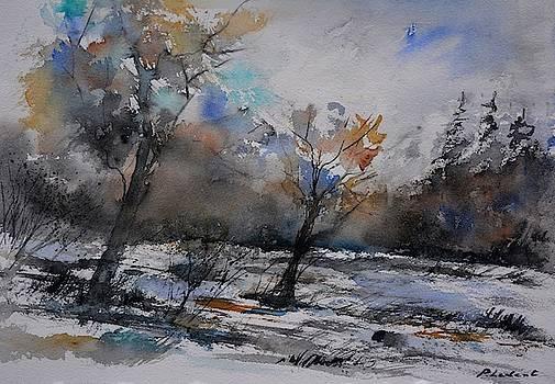 Wood in winter - 5491103 by Pol Ledent