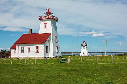 Wood Islands Lighthouse by Eunice Gibb