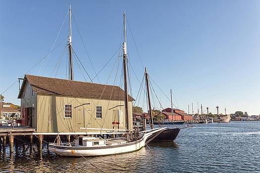 Cliff Wassmann - Wooden boats in Mystic Seaport
