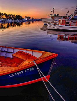 Wooden Boats by Tom Gresham