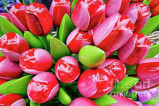 Wooden Tulips by Norman Gabitzsch