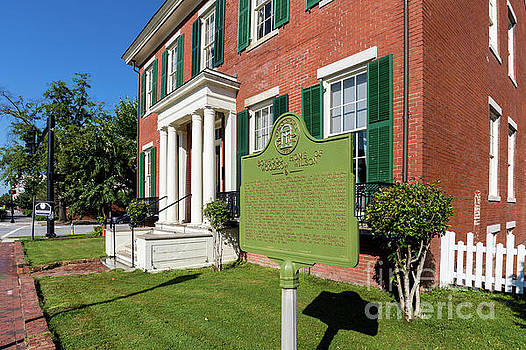 Woodrow Wilson Boyhood Home - Augusta GA 1 by Sanjeev Singhal