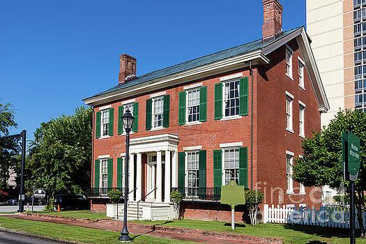 Woodrow Wilson Boyhood Home - Augusta GA 3 by Sanjeev Singhal